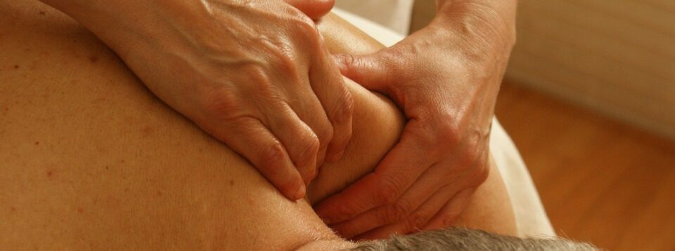 Massage therapy for shoulder pain